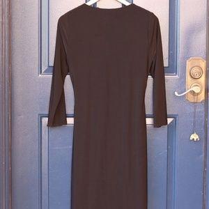Tahari Dresses - Tahari | NWT black cowl neck 3/4 sleeve dress